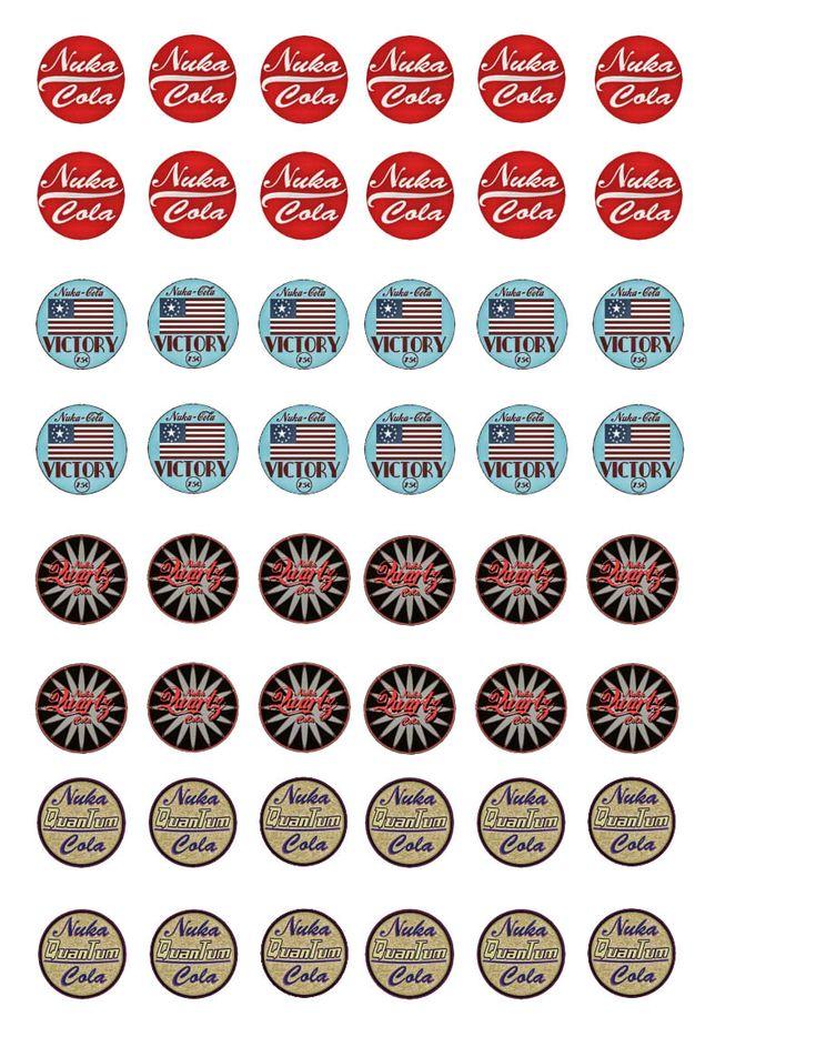 Nukacola  variety Template by ZoraZer0.deviantart.com on @DeviantArt