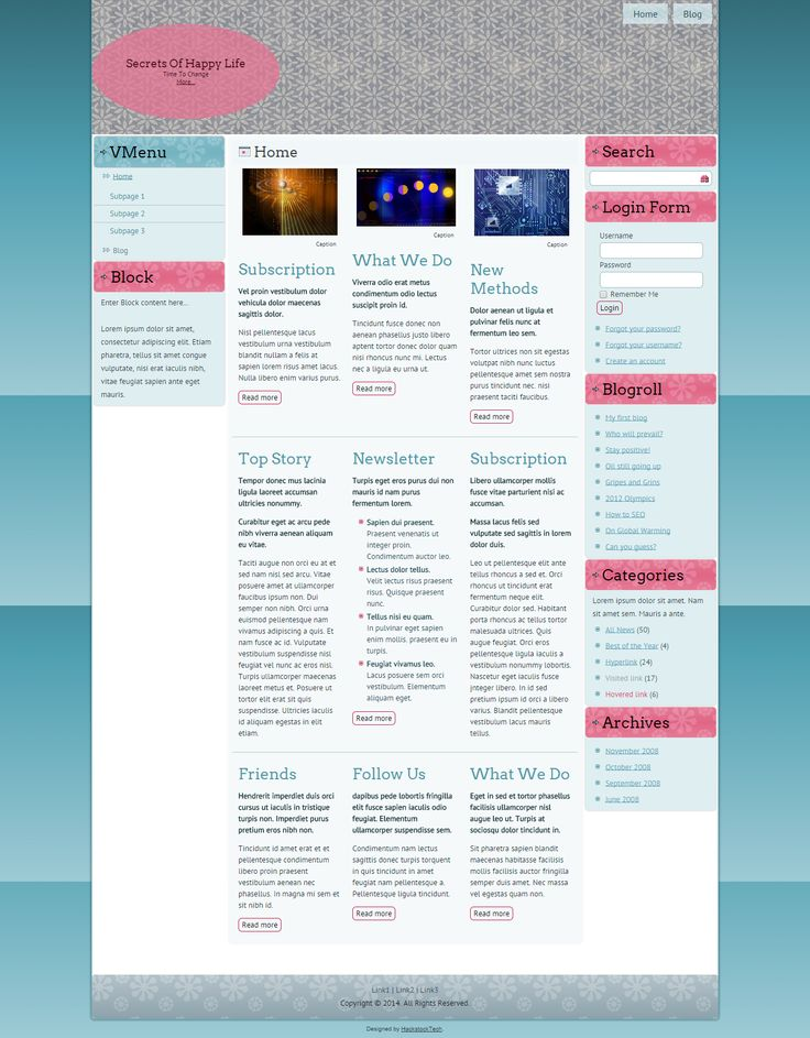 weebly website template