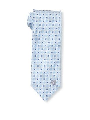 Versace Men's Rings Tie, Blue