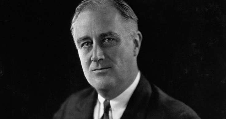 Franklin D. Roosevelt was the 32nd president elected in the United States in 1932. He first came to office during the Great Depression and offered a policy called the New Deal to financially help citizens in the US. He was reelected and was the president during WW2. FDR helped fight against and successfully defeat Nazi, Germany in 1945.