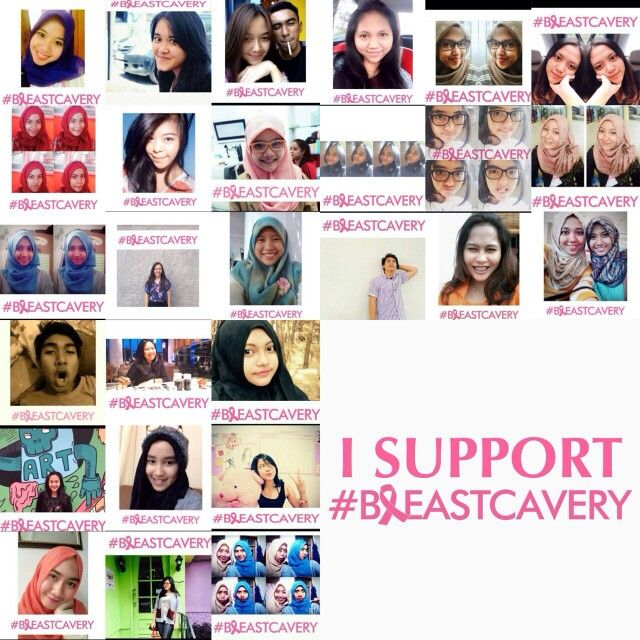 I support #breastcavery. This is us, what about you? Join us to support breast cancer campaign! Thankyou
