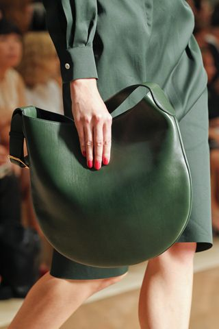 CELINE HOBO IN CALFSKIN DARK GREEN - 2012 | Bags that I wanted to ...