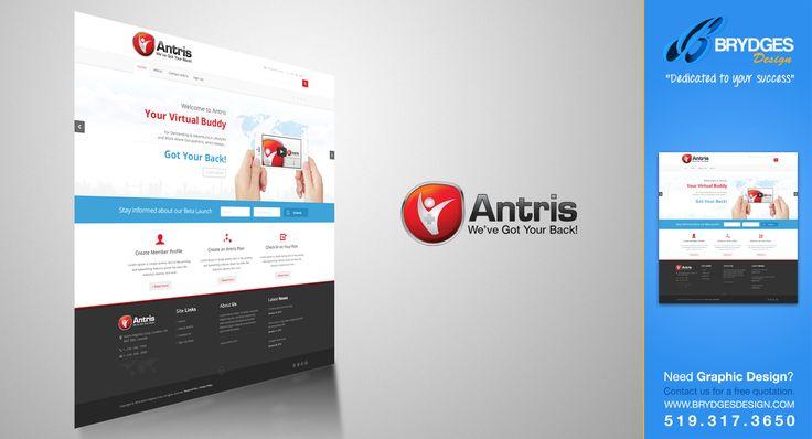Antris Landing Page Design www.antris.com