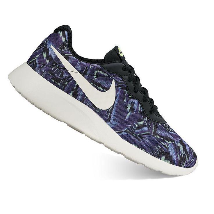 Nike Tanjun Women's Camo Print Athletic Shoes,