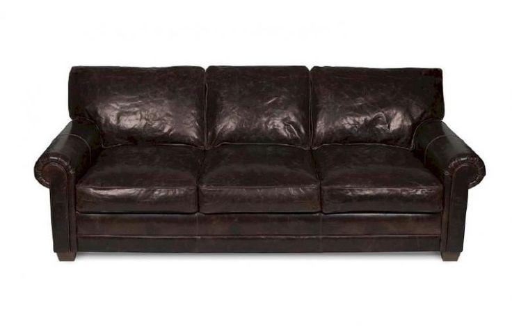 Elite Leather Slauson Sofa