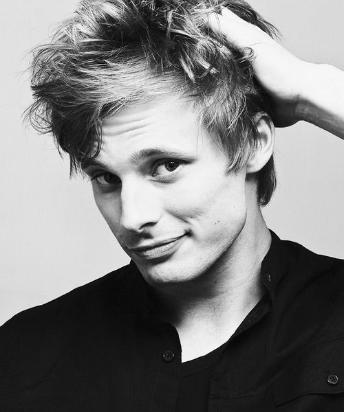 bradley james from Merlin. Also @Mariana Kinnard  Crooked smile. nuff said.