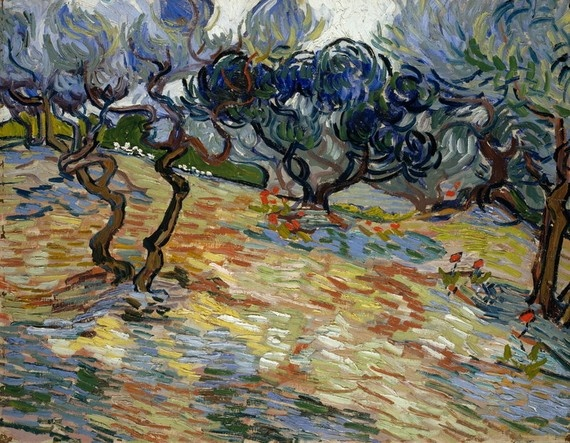 'Olive Trees' by Vincent van Gogh (1889)