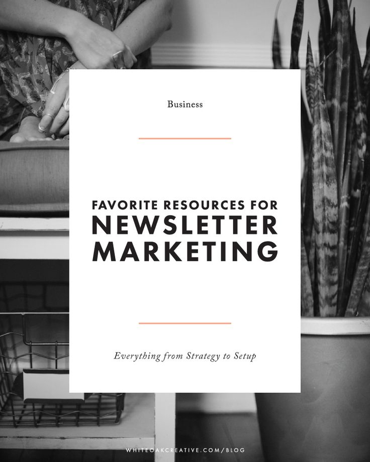 Comprehensive list of resources + guides for setting up and strategizing your email newsletter marketing approach, blogging tutorial, blog guide, blog design  More ideas at http://www.brightpreneur.com