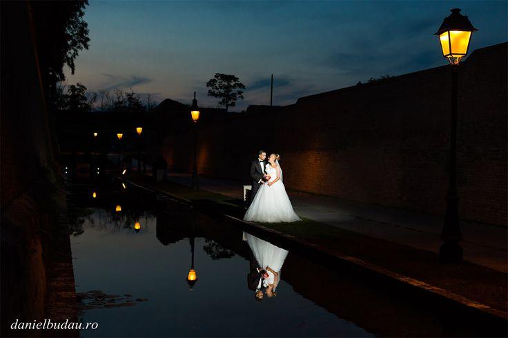 Fotograf nunta Hunedoara - Fotograf nunta Daniel Budau - Fotografie de nunta pe timp de noapte