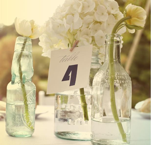 1000 images about simple bottle centerpieces on pinterest for Glass bottle centerpieces weddings