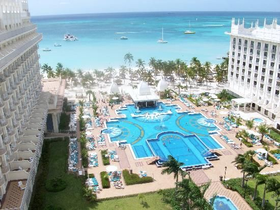 The Palace Riu in Aruba.  Tiny and I spent two all inclusive vacations here.  Heaven on Earth