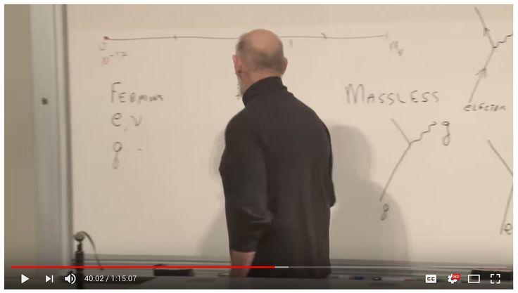 Leonard Suskind - Higgs Boson