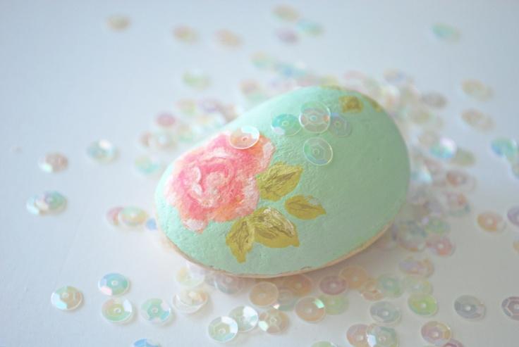 stellaire: painted stones via Torie Jayne