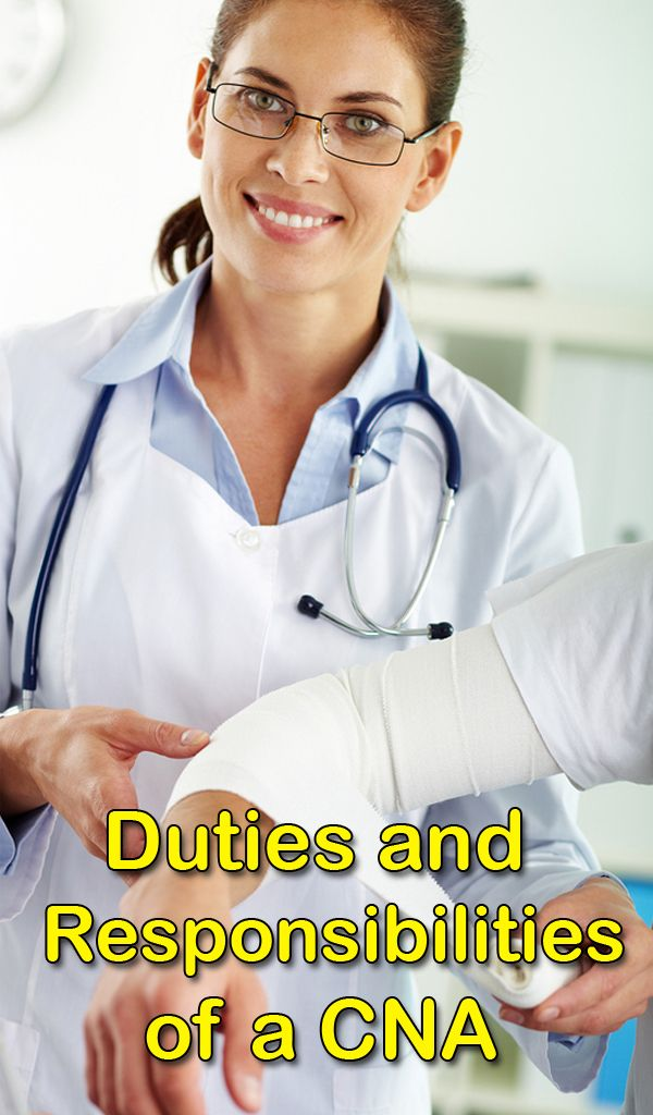 cna job description duties and responsibilities - Duties Of Nurse Assistant