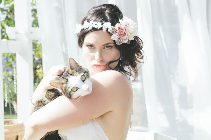 Be sure to get a photo with your fur baby on your wedding day!