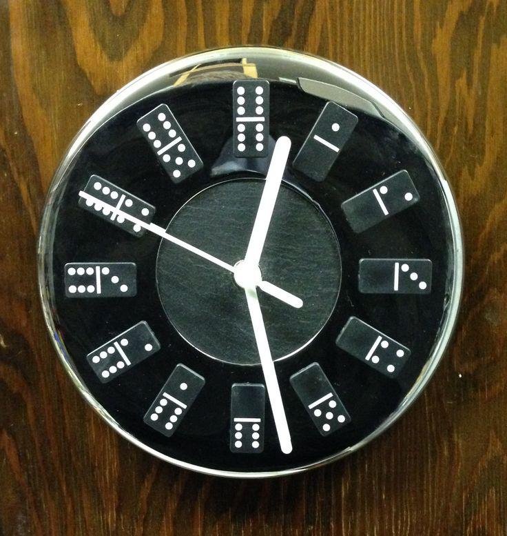 First Fix Tick Tock domino clock.