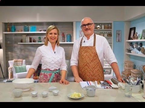 Horneados por Gross  Anna Olson ►Muffins de Manzanas y Muslix ♦ Scones de Chocolate Blanco◄ - YouTube
