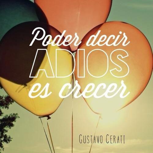 no es soberbia es amor! poder decir adiós es CRECER!! -sabiduría en su máxima expresión.
