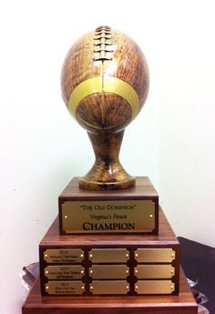 diy fantasy football trophy - Google Search