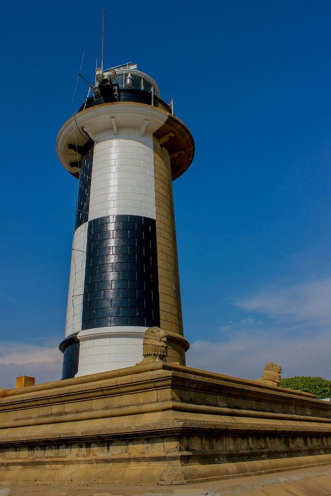 sterling silver charms  Lighthouse   Colombo Fort  Pettah  Sri Lanka  from Nazly Ahmed