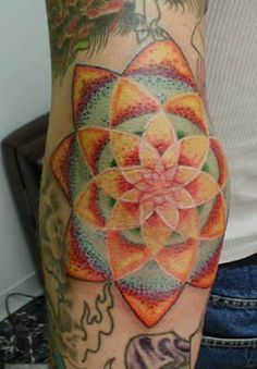Kaleidoscope Tattoo on Pinterest | Fisherman Tattoo Grim Reaper Tatt ...