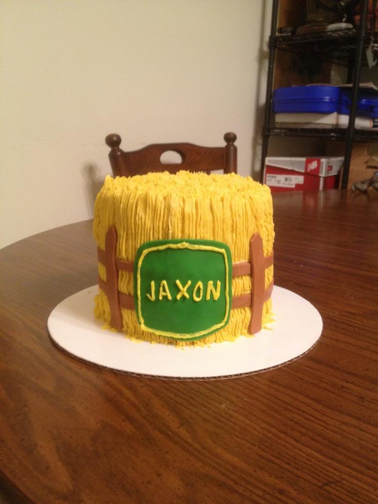 Hay Bale Cake