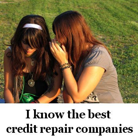 Credit repair companies best credit repair companies and people on