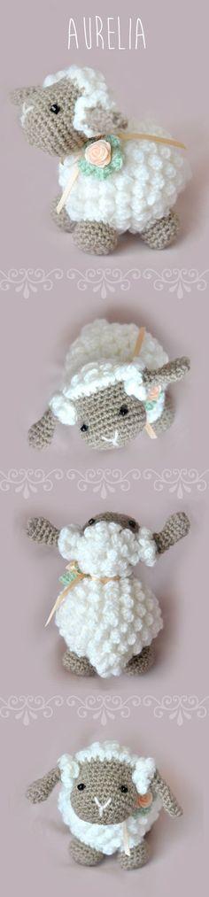 Crochet Lamb Free Pattern