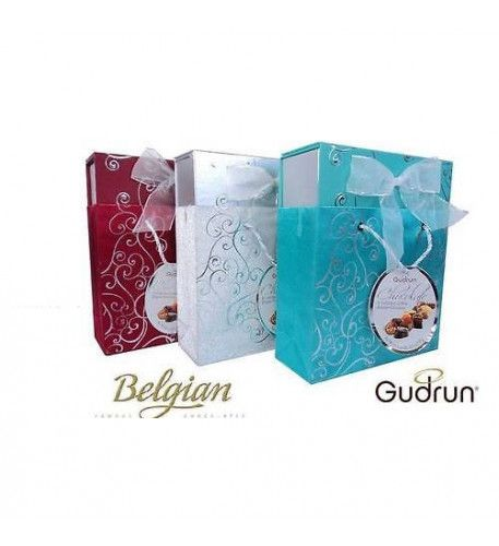 Gudrun Belgian Chocolates BOX Special Belgian chocolate with nice pack from