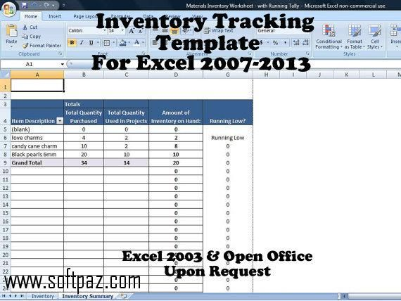 10 best Everything Excel Templates images on Pinterest Summary - asset inventory template
