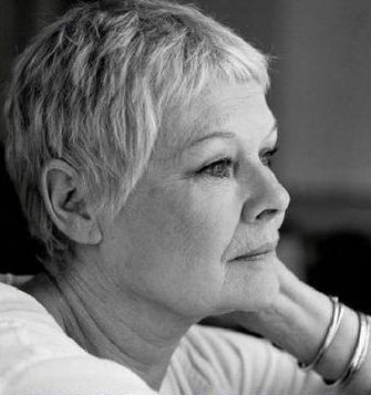 """""""The more I do, the more frightened I get. But that is essential. Otherwise why would I go on doing it?"""" Judi Dench"""