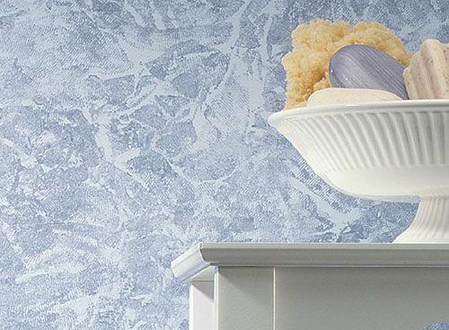Sponge texture wall paint effect