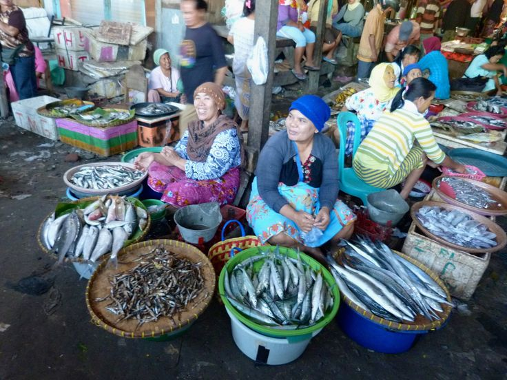 Market Sumbawa Besar, Indonesia