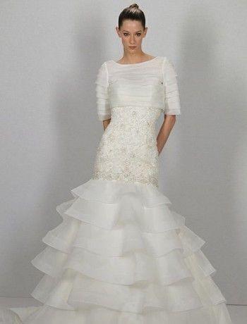 Salimos a la búsqueda de los vestidos de novia para gorditas de los mejores diseñadores de alta costura de las colecciones nupciales del 2014 para tí!!