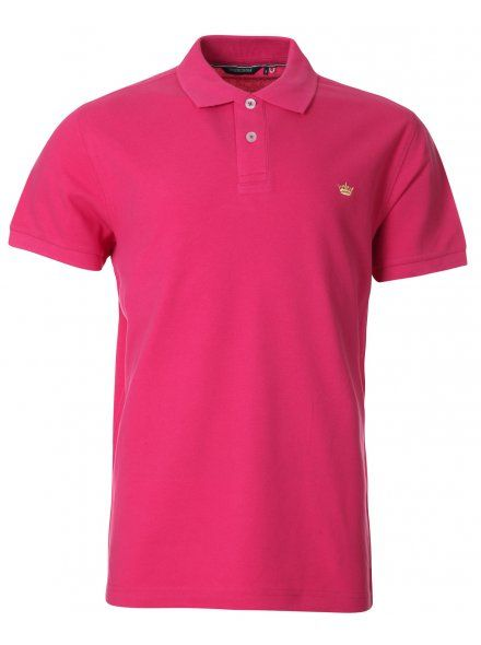 Twisted Soul Mens Rose Pink Polo Shirt