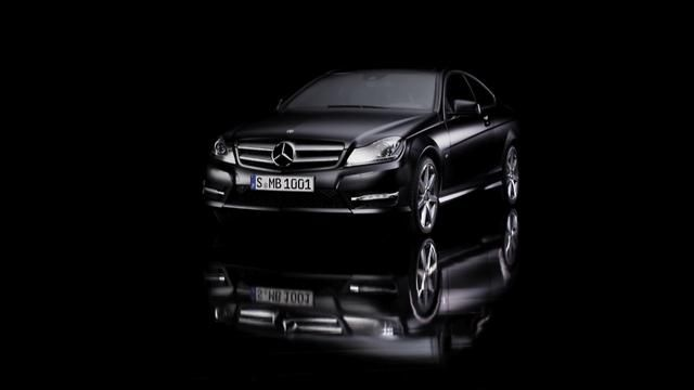All new Mercedes C-Class Coupe 2012