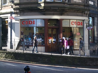 Coda Music on the Mound: Best record store. Ever. If you're into Scottish folk, that is.