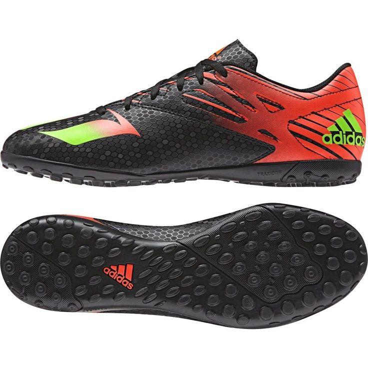 Adidas Men Football Messi 15.4 Turf Shoes Soccer Outdoor Futsal AF4683 # Adidas