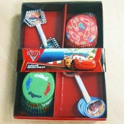 A68370 - Disney Cars Cupcake Decorating Kit Please note: approx. 14 day delivery time. www.facebook.com/popitinaboxbusiness