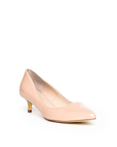 Nude Or Blush Patent Shoes