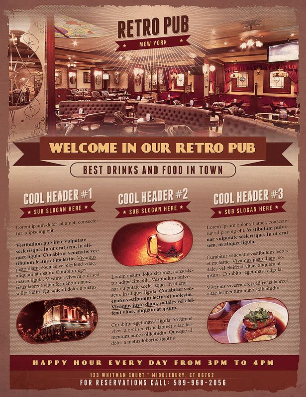 Best Bar Flyer Images On   Ruffles Flyers And Leaflets