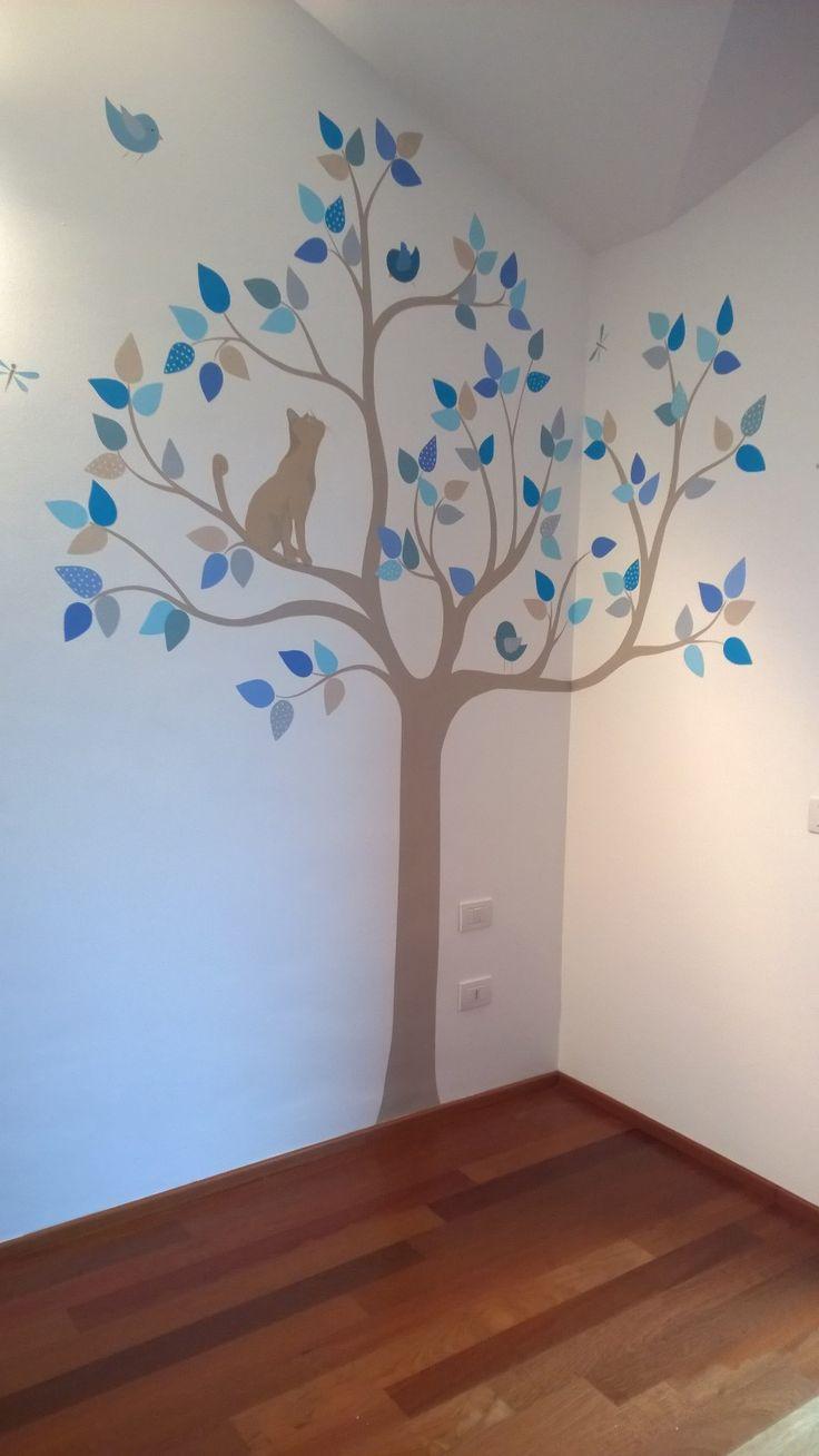 Oltre 25 fantastiche idee su murales cameretta neonato su - Idee camerette neonato ...