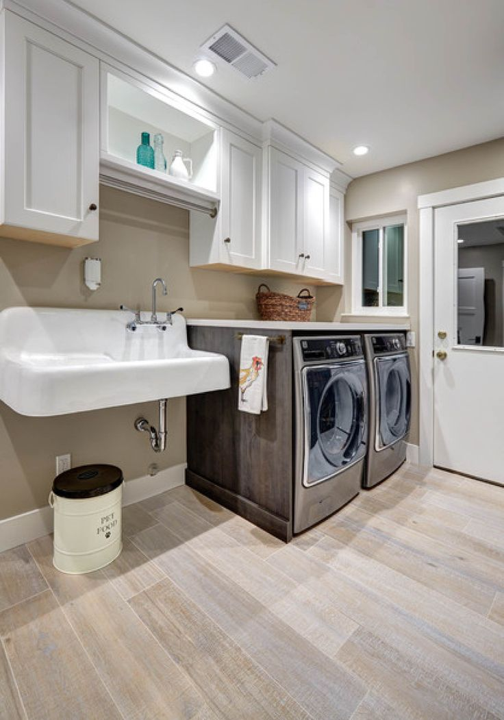42 cast iron wall hung kitchen sink with drainboard kitchen sinks sinks and laundry rooms - Small space laundry room ideas model ...