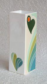 ceramica come mestiere: Vasi in ceramica. Originali, colorati, eleganti.
