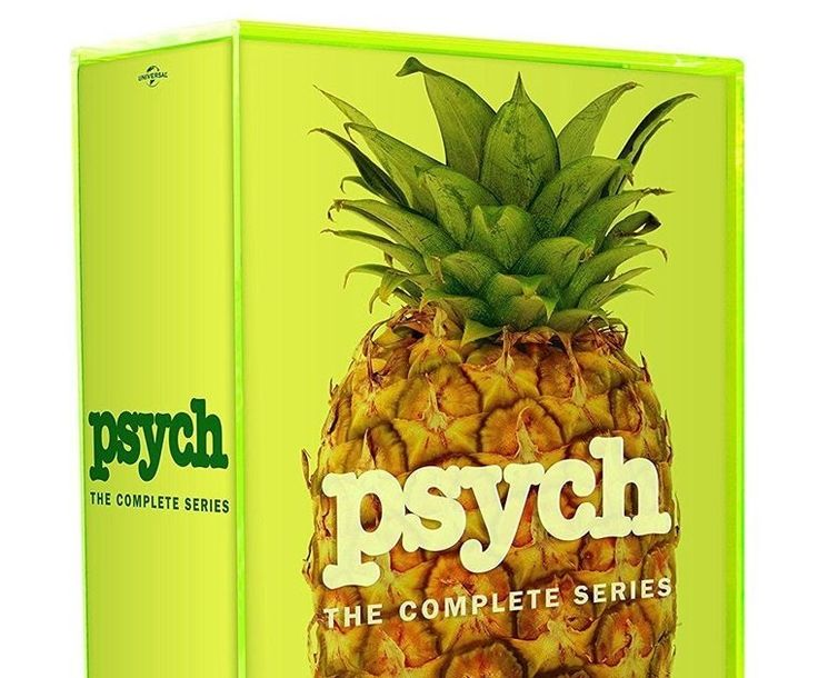 Psych: The Complete Series (DVD 2014 31-Disc Set Subtitled)