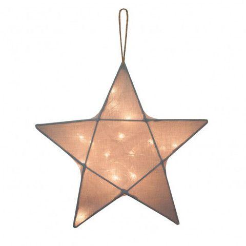 LANTERN | silvery grey star by Numero 74 | Cranmore Home