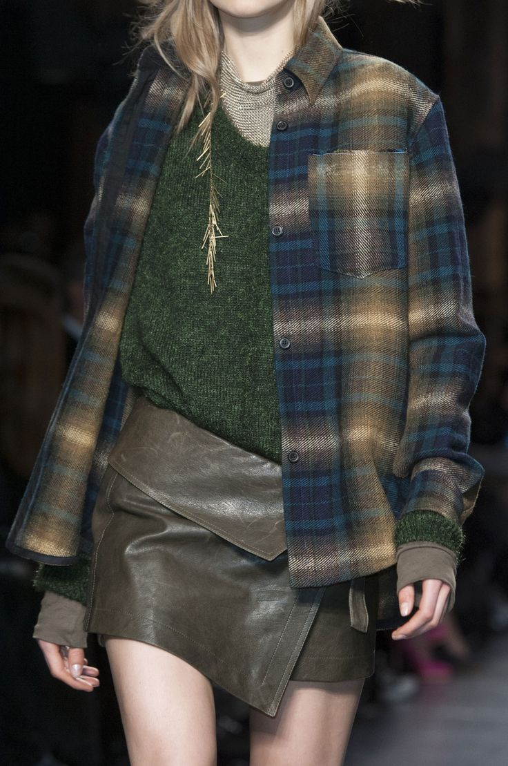 Isabel Marant at Paris Fashion Week Fall 2014
