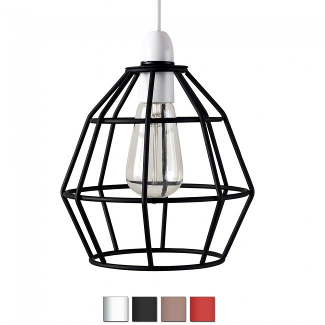Industrial Style 'Angus' Basket Pendant Shade