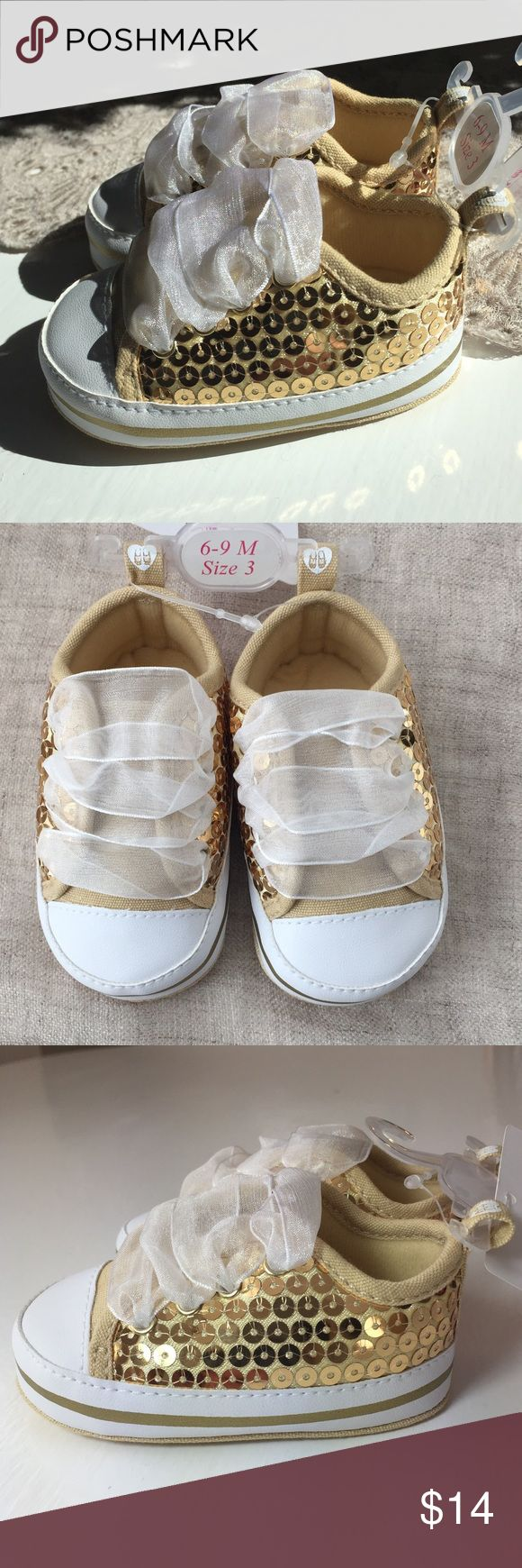newbaby sequined shoes adorable baby sequined tennis shoes with ribbon lace ups