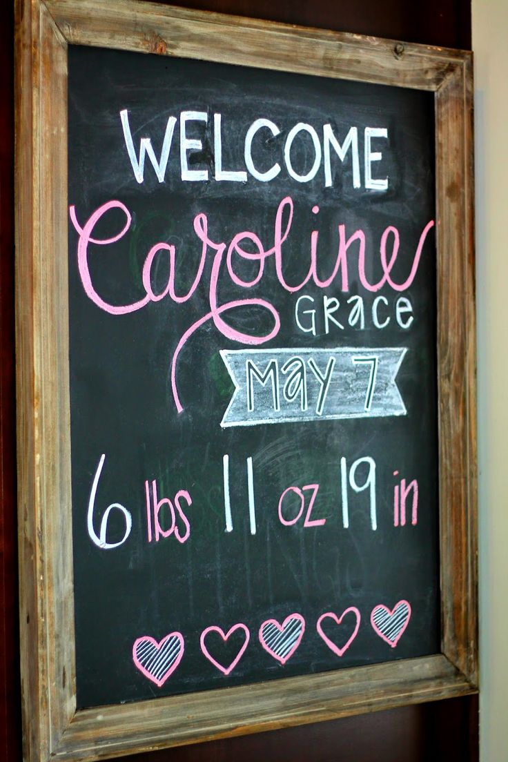 Welcome Caroline Grace Marcellino!